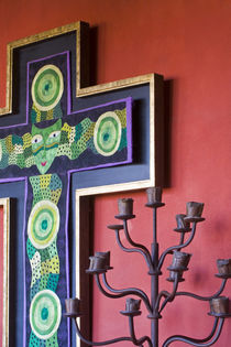 Where each room is decorated in Mexican folk art located in the colonial city of San Miguel de Allende von Danita Delimont