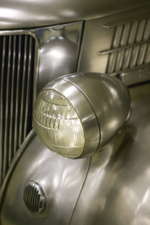 Crawford Auto Aviation Wing: 1930s Sedan done as a Stainless Steel Design Study for the Budd Steel Company by Danita Delimont