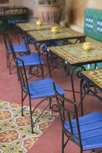 Squala Bastion Cafe Tables / Cafe Maure by Danita Delimont