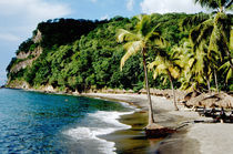 Resort beach at Anse Chastanet von Danita Delimont