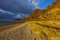 Stormy light on Isla Carmen in the Gulf of California near Loreto Mexico von Danita Delimont