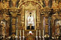 San Xavier del Bac Mission Altar von Danita Delimont