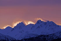 Sunrise over the Kenai Mountains by Danita Delimont