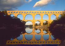 Roman aqueduct by Danita Delimont