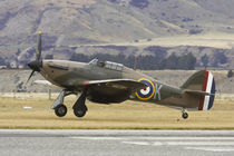 Hawker Hurricane - British and allied WWII Fighter Plane von Danita Delimont