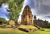 View of Bakong Temple by Danita Delimont