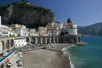 Amalfi: Town View from Coast Road/ Morning von Danita Delimont
