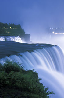 American Falls in evening light by Danita Delimont