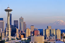 Seattle Washington skyline by Danita Delimont