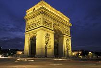 Arc de Triomphe by Danita Delimont
