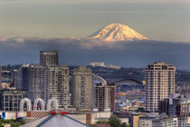 Mount Rainier from Kerry Park von Danita Delimont