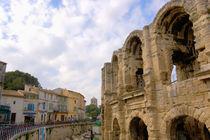 Roman amphitheatre and shops von Danita Delimont