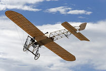 Vintage Bleriot XI Aircraft ( 1909 ) by Danita Delimont