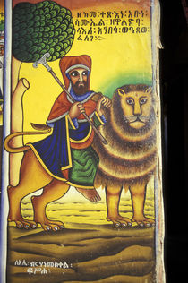 Artwork depicting Lion of Judah von Danita Delimont