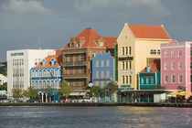 Willemstad: Harborfront Buildings of Punda von Danita Delimont