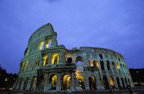 Evening view of the colosseo (Colosseum) von Danita Delimont