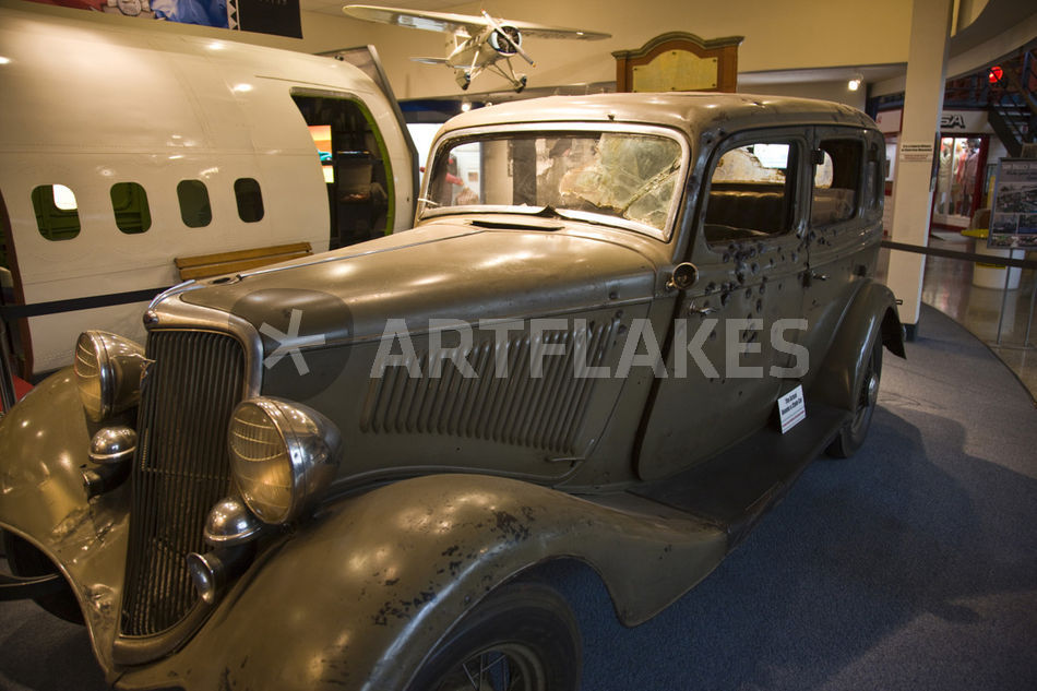 Clyde ford v8 bonnie 'The Highwaymen'