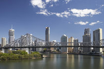 And Brisbane CBD by Danita Delimont