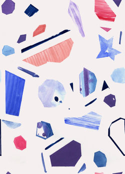 Pattern-colorblock