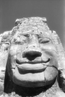 Head of The Bayon von Danita Delimont