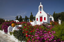 Cute little chapel in the middle of the island by Danita Delimont