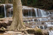 Waterfall on the border between Thailand and Burma von Danita Delimont