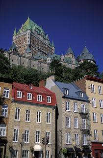 Lower Town and Chateau Frontenac von Danita Delimont