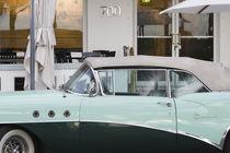1956 Buick Convertable / Ocean Drive by Danita Delimont