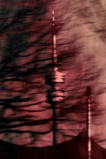 Munich television tower art Posters by Falko Follert