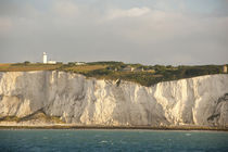 The famous white cliffs of Dover along the coast of the North Sea by Danita Delimont
