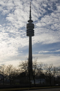 Television tower in Munich by Falko Follert