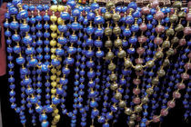 Colorful beads for sale at popular market by Danita Delimont