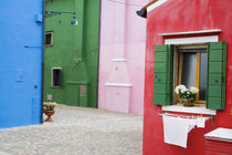 Colorful Burano City homes von Danita Delimont