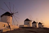 Mykonos Windmills von Danita Delimont