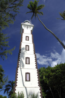 Venus Point Lighthouse (aka Pointe Venus) by Danita Delimont