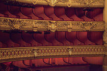 Partial view of balcony seating at Opera Garnier by Danita Delimont