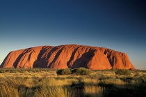 Ayers Rock (Uluru) at dawn of new millenium by Danita Delimont