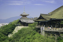 The View from Kiyomizu Temple von Danita Delimont