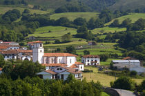 The village of Amaiur in the Baztan Valley of the Navarre region of northern Spain von Danita Delimont