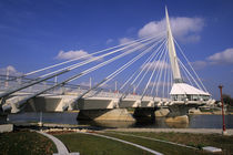 Provencher Bridge over the water von Danita Delimont