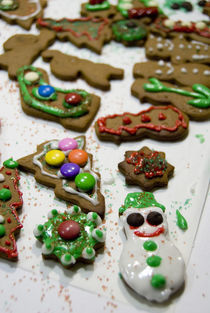 Holiday gingerbread cookies von Danita Delimont