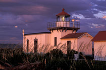 The oldest lighthouse on the Puget Sound by Danita Delimont