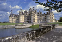 Is one of the largest chateaux in the Loire Valley in France by Danita Delimont