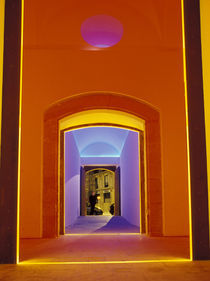 Lit doorway near Picasso Museum in the Ciutat Vella area by Danita Delimont