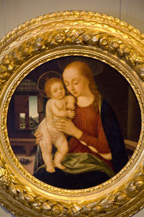 Madonna & Child painting von Danita Delimont