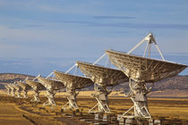 Very Large Array aka National Radio Astronomy Observatory in Sorocco county New Mexico von Danita Delimont