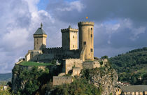 Foix; Ariege; France by Danita Delimont