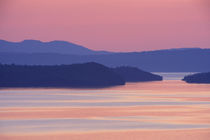 Nipigon Bay in summer twilight by Danita Delimont
