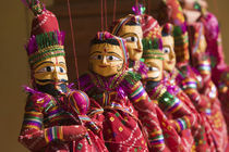 'Indian Souvenir Puppets' by Danita Delimont