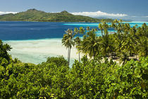 Scenics and grounds of beautiful resort in Bora Bora by Danita Delimont